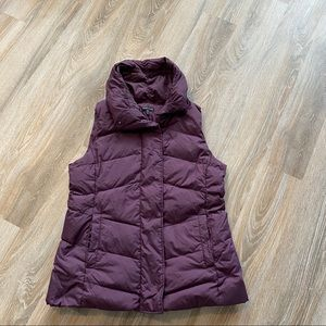 Eileen Fisher duck down puffer vest size L